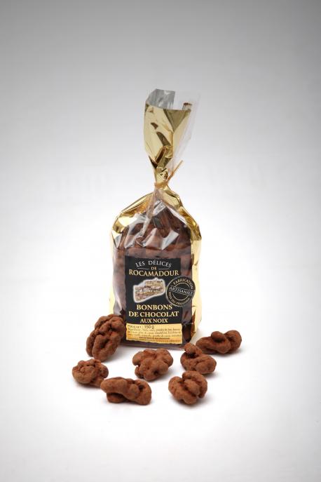 Bonbons noix / chocolat